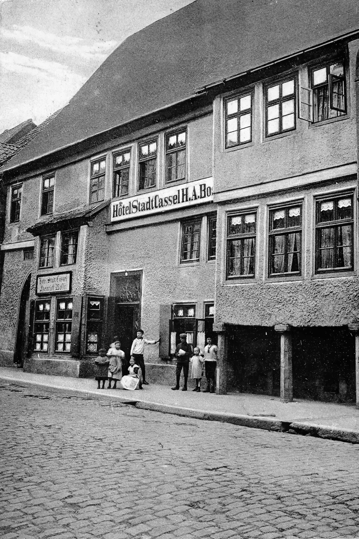 """damals noch """"Stadt Cassel"""""""